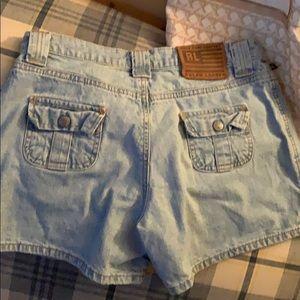 Ralph Lauren Size 4 Jean Shorts 100% cotton